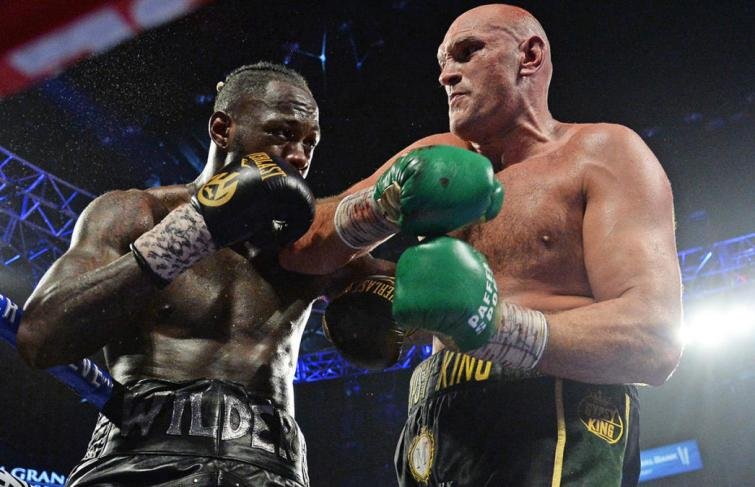 Tyson Fury Vs Deontay Wilder Rescheduled For Oct 9th