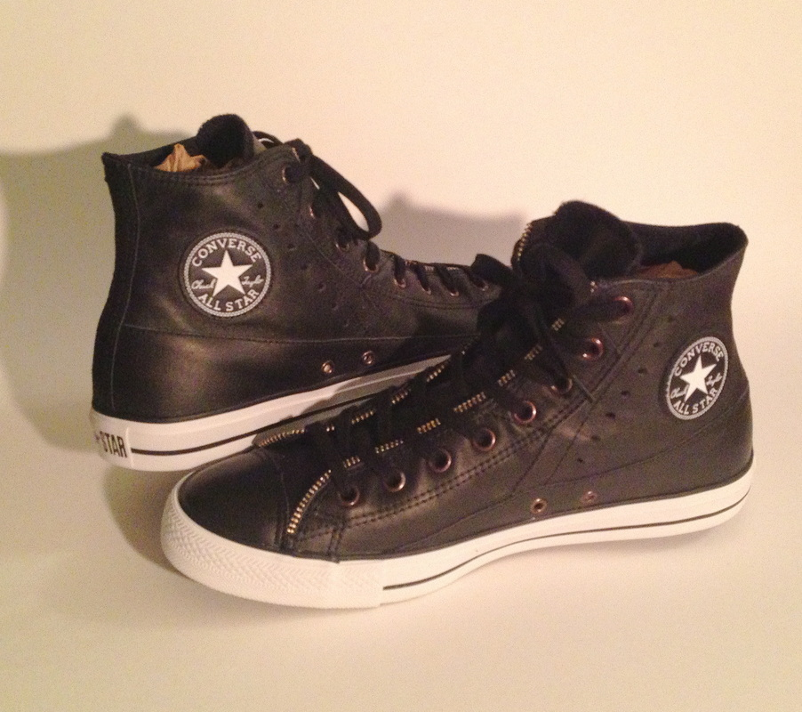 Converse Chuck Taylor All Star Motorcycle Jacket Hi Tops
