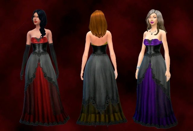 Vampire Gown Conversion