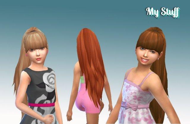 Ariana Ponytail for Girls