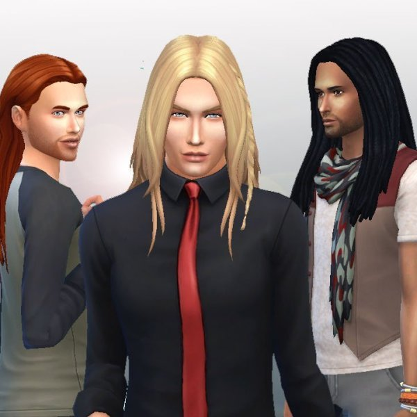 Male Long Hair Pack