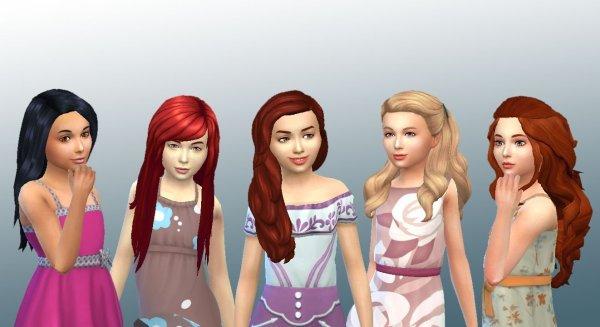 Girls Long Hair 4