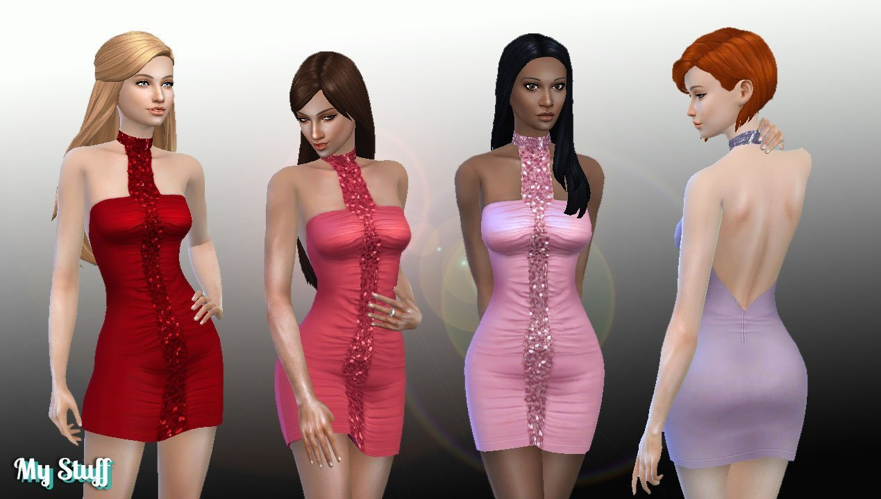 TS2 Night Life Dress Conversion