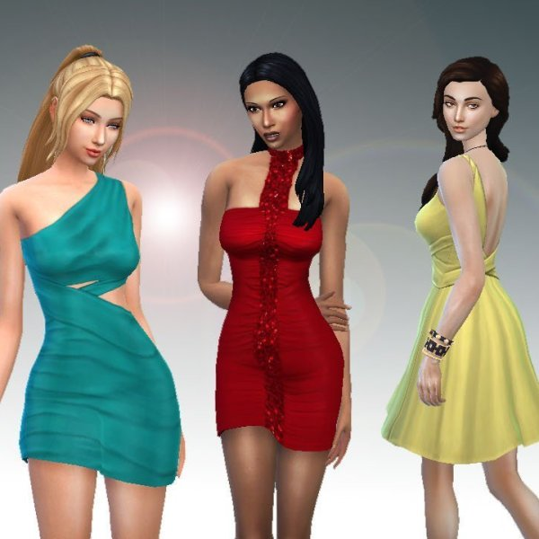 Female Body Clothes Pack
