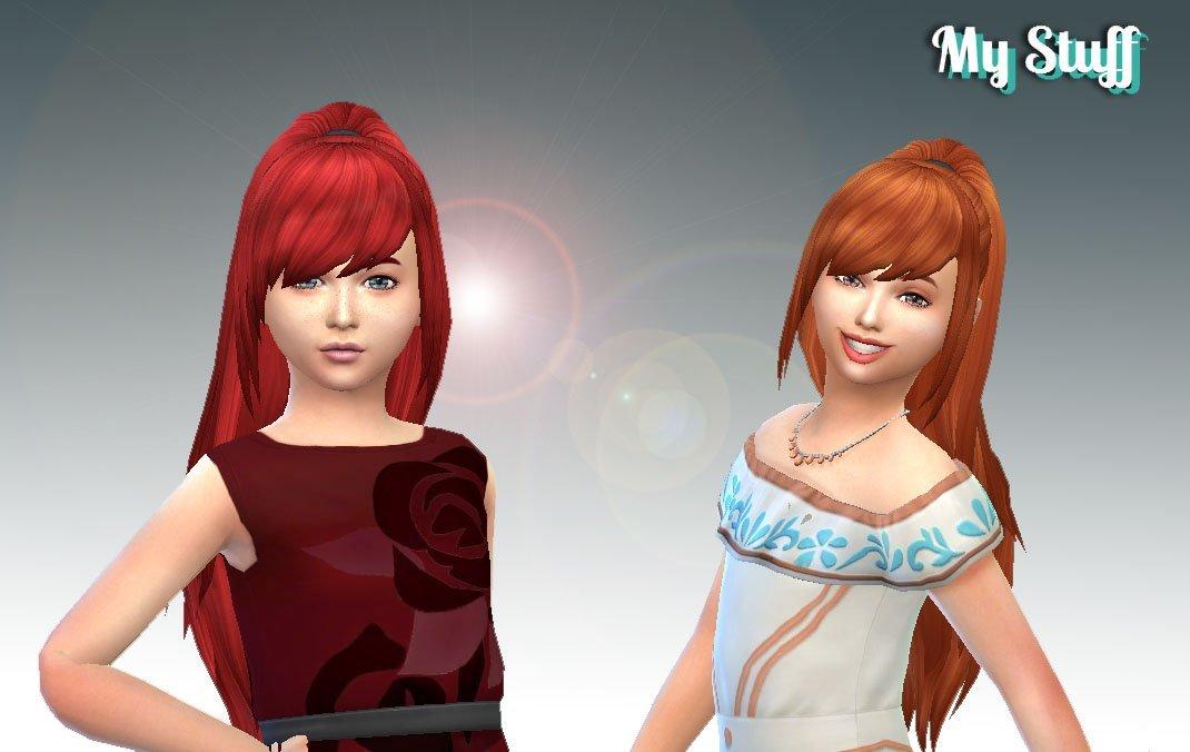 Fashion Ponytail for Girls