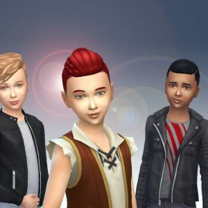 Boys Hair Pack 4