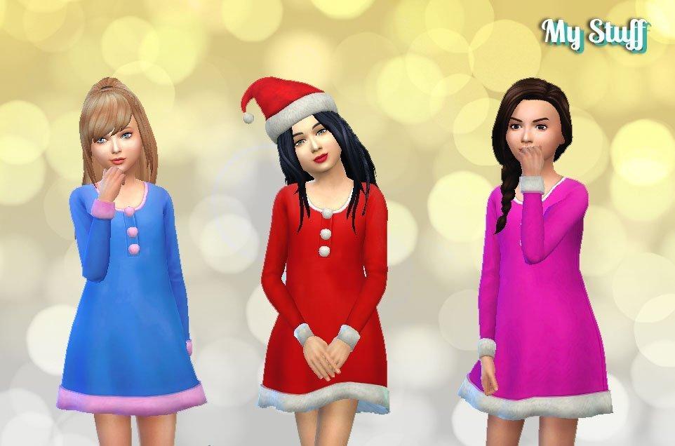 Girls Christmas Dress