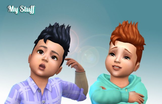 Pompadour Spiky for Toddlers