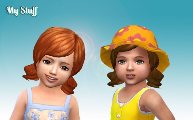 Dolly Hair for Toddlers