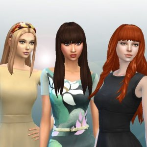 Long Hair Pack 8