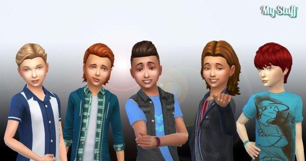Boys Hair Pack 5