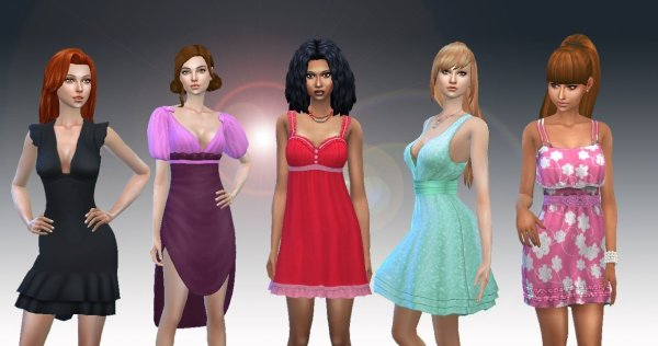 Female Dress Pack 2