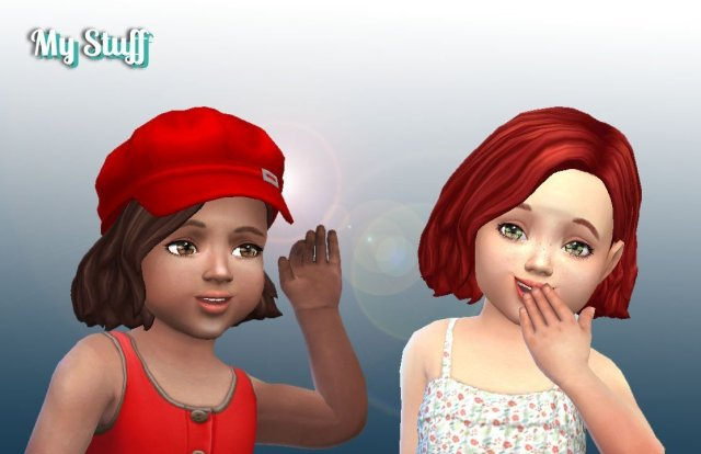 Amalia Hairstyle for Toddlers