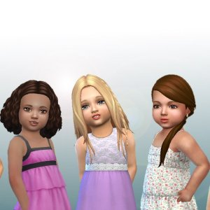 Toddlers Hair Pack 9
