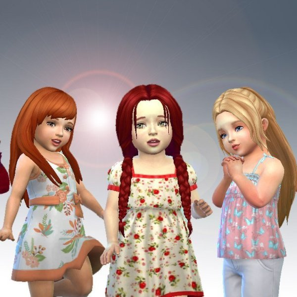 Toddlers Hair Pack 10