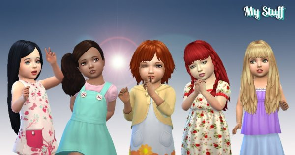 Toddlers Hair Pack 11