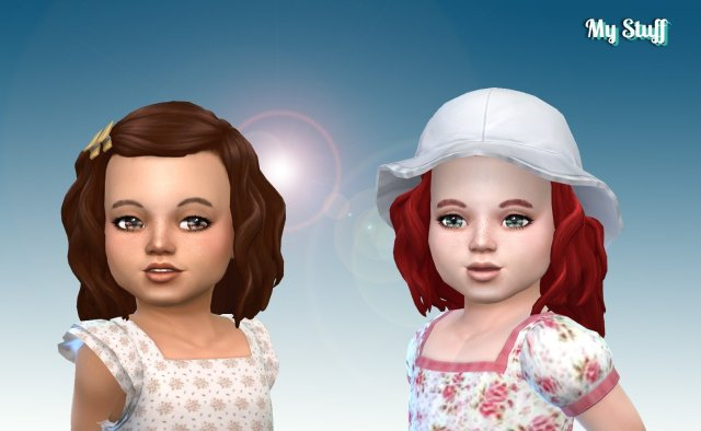Lara Hairstyle for Toddlers