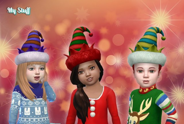 Holiday Elf Hat for Toddlers