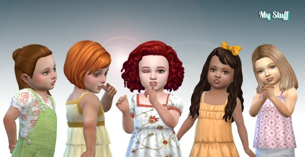 Toddlers Hair Pack 16