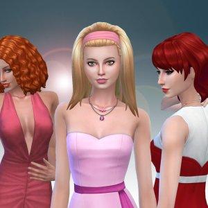 Female Medium Hair Pack 9