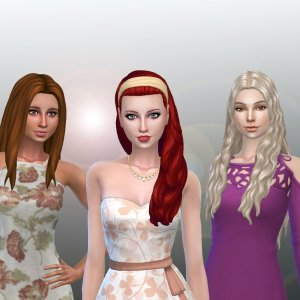 Female Long Hair Pack 16