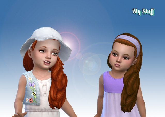 Livia Hairstyle for Toddlers