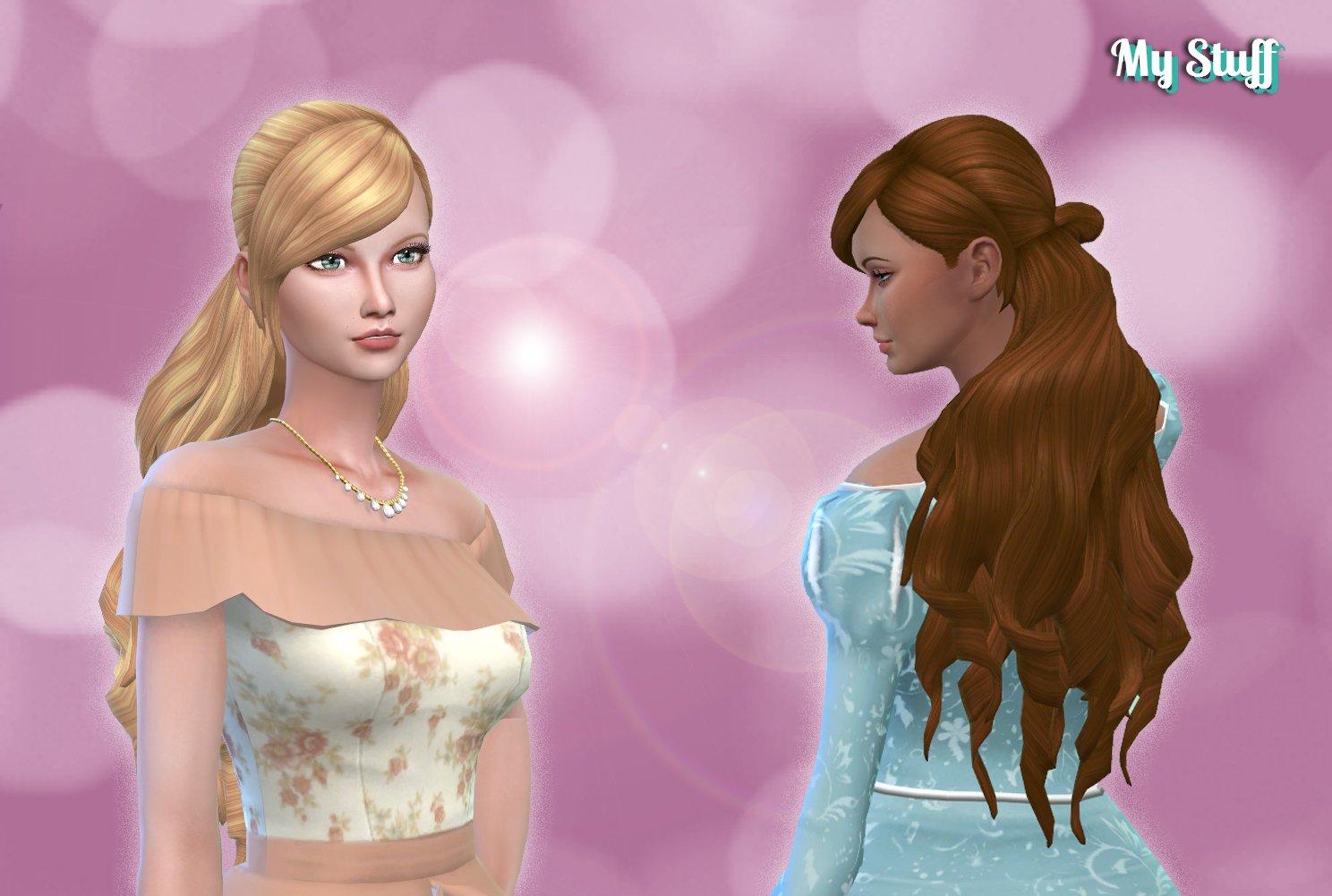 Barbie Princess Hairstyle