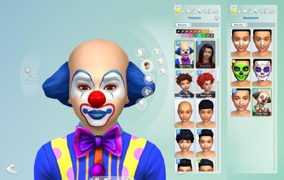Clown Hair + Makeup for Kids - My Stuff