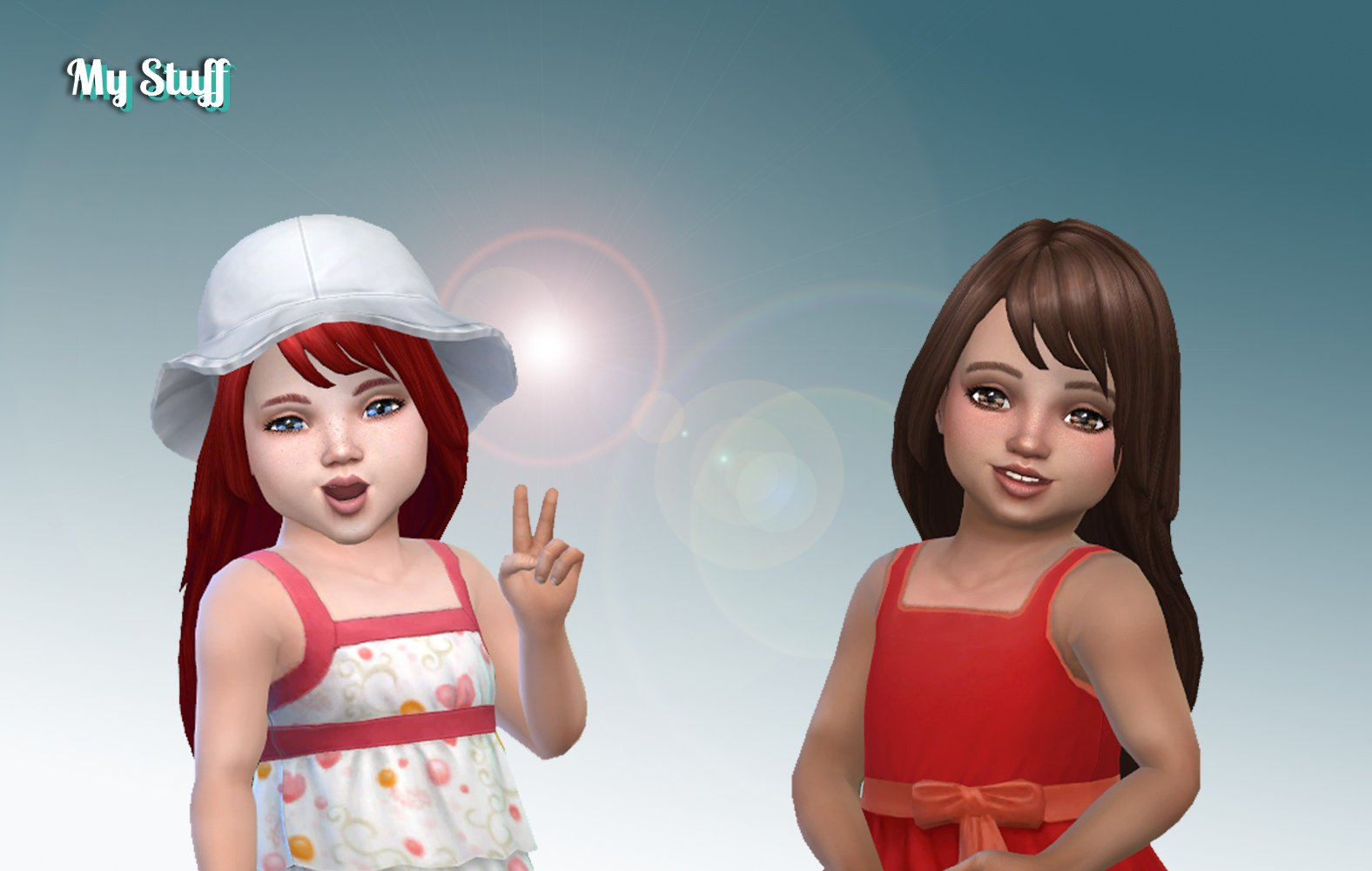 Eleanor Hairstyle for Toddlers