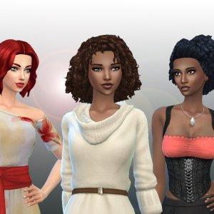 Female Medium Hair Pack 12
