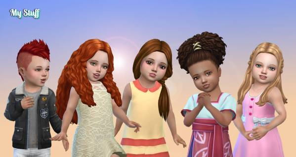 Toddlers Hair Pack 31