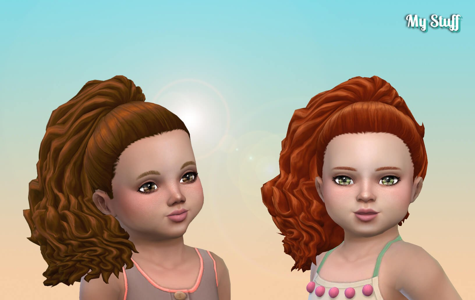July Curls for Toddlers