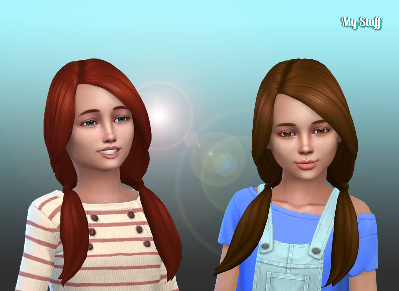 Rosemarie Hairstyle for Girls