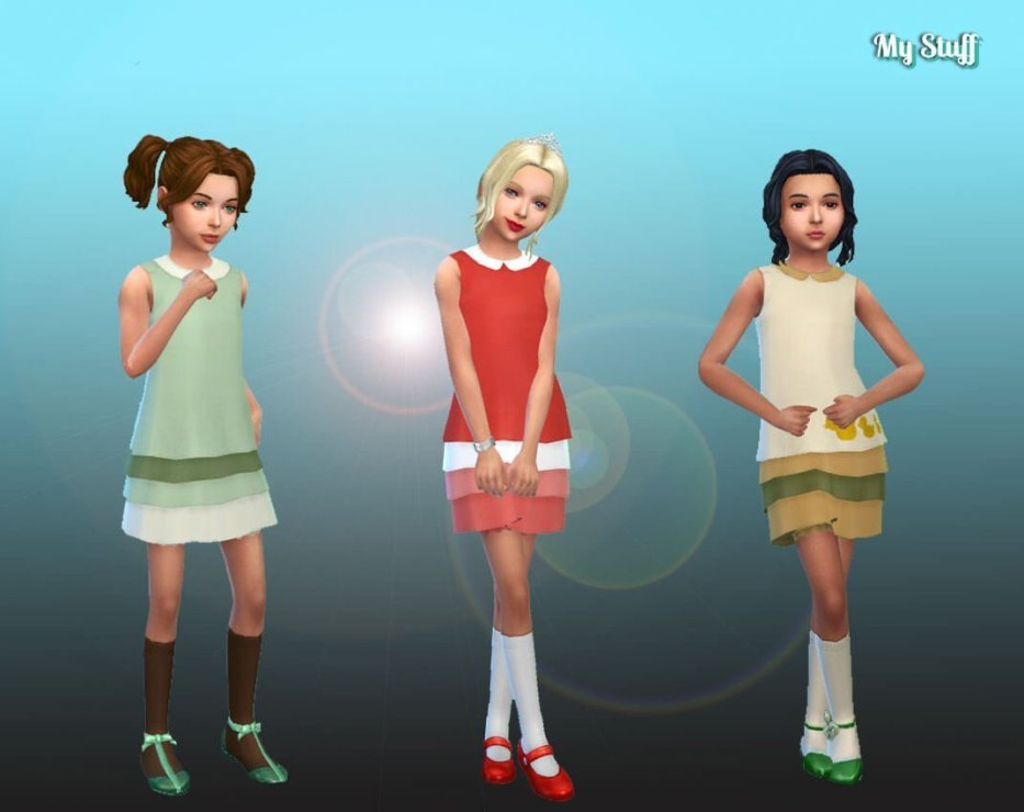 Duckies Dress for Girls