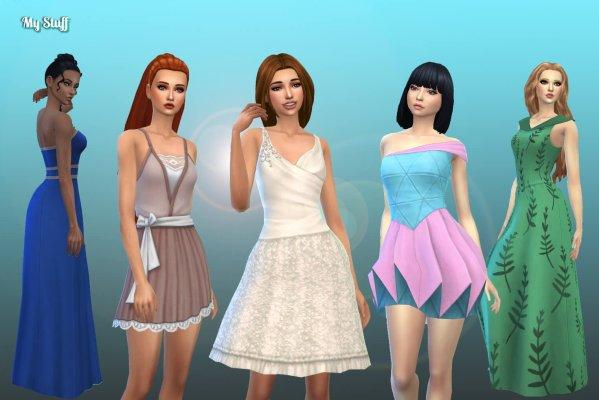 Female Dresses Pack 6