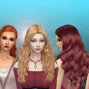 Female Long Hair Pack 27