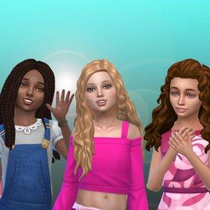 Girls Long Hair Pack 24