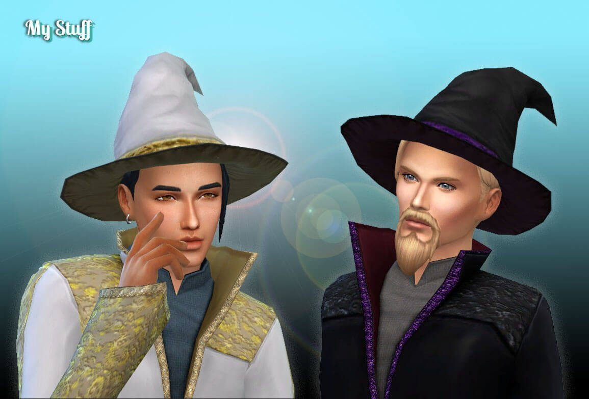 TS2 Male Witch Hat