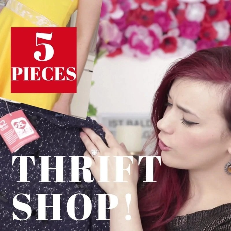 5-Thrift-Shop-Pieces-Mini-Haul-Try-On-How-to-Style