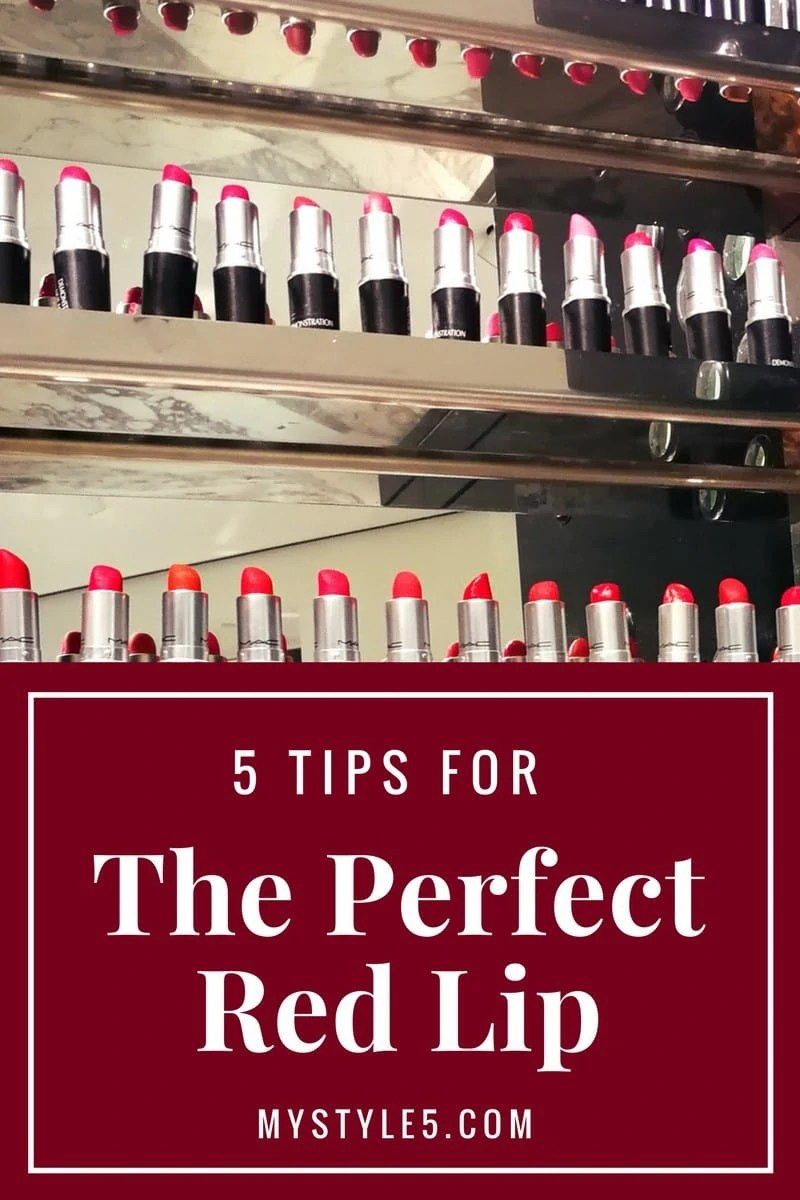 5 Tips For A Perfect Red Lip