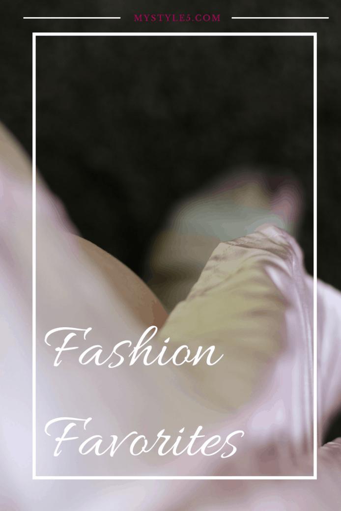 shop my fashion favorites