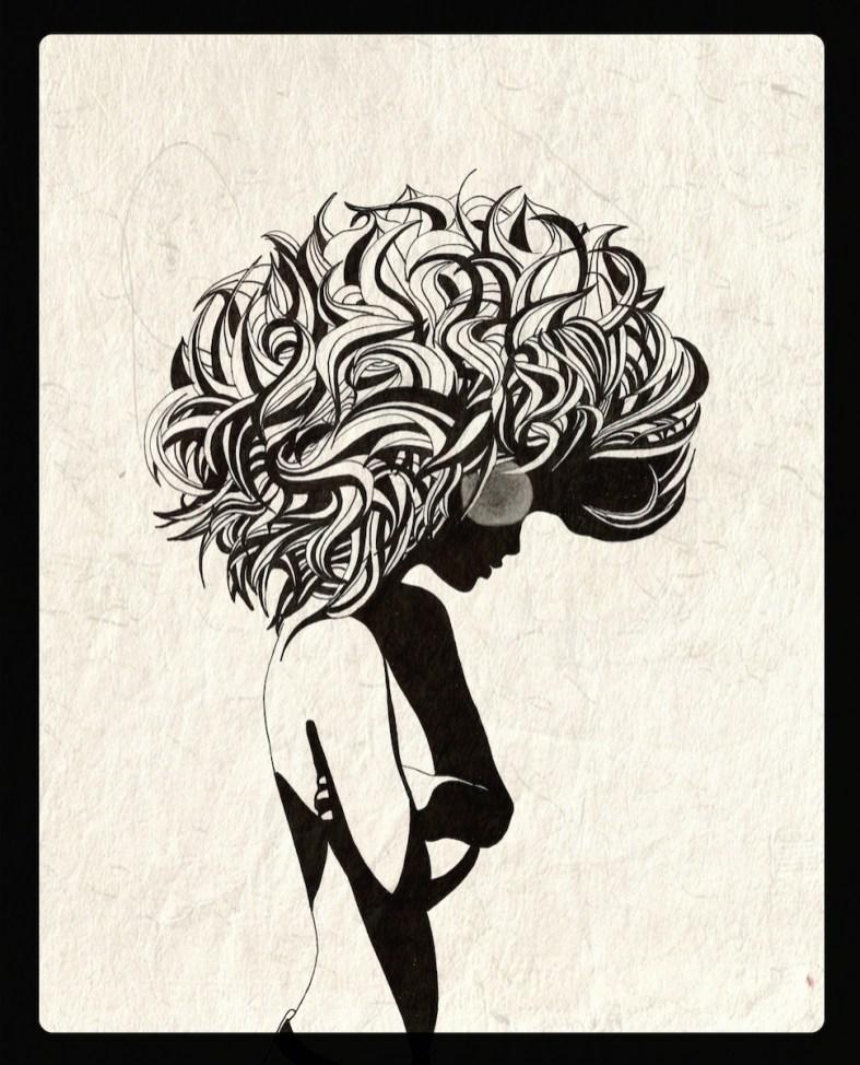 Black and White by Rebecca Elliston