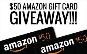50$ amazon gift card giveaway