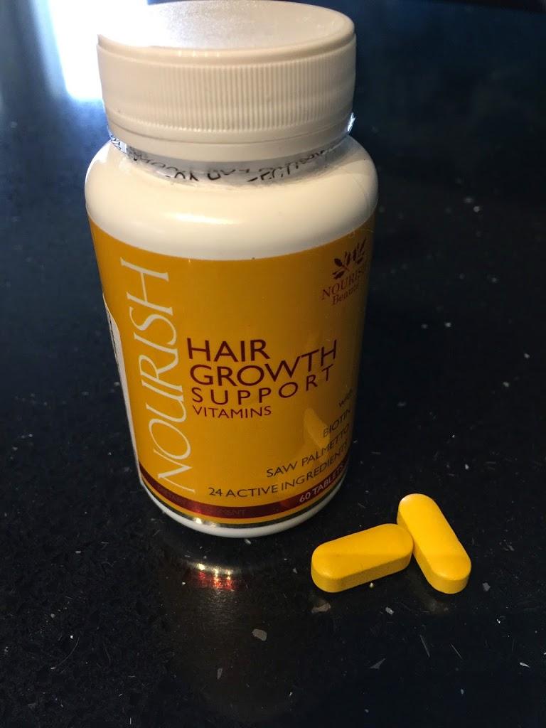 nourish vitamins hair growth supplement