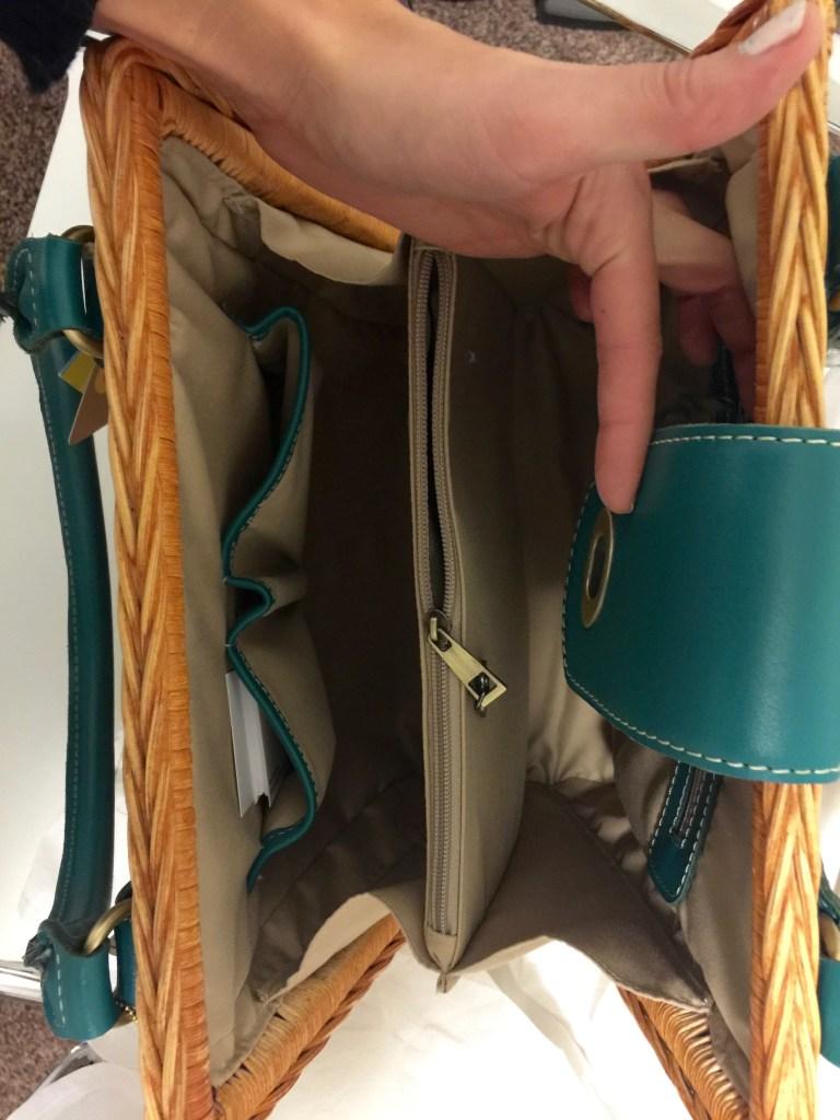 purse for the people handbag- inside