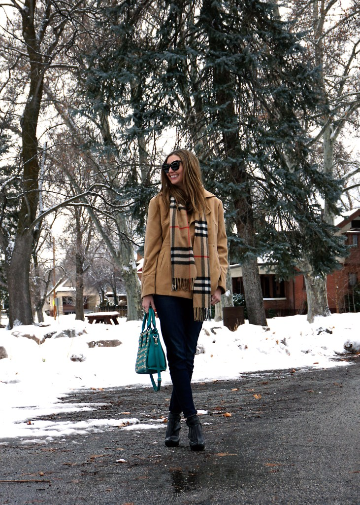measeor camel peacoat