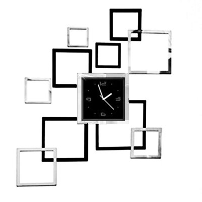 acrylic clock mirror set from best gear