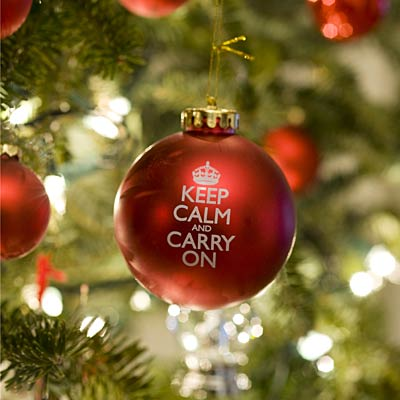 tips for remaining calm during the holidays