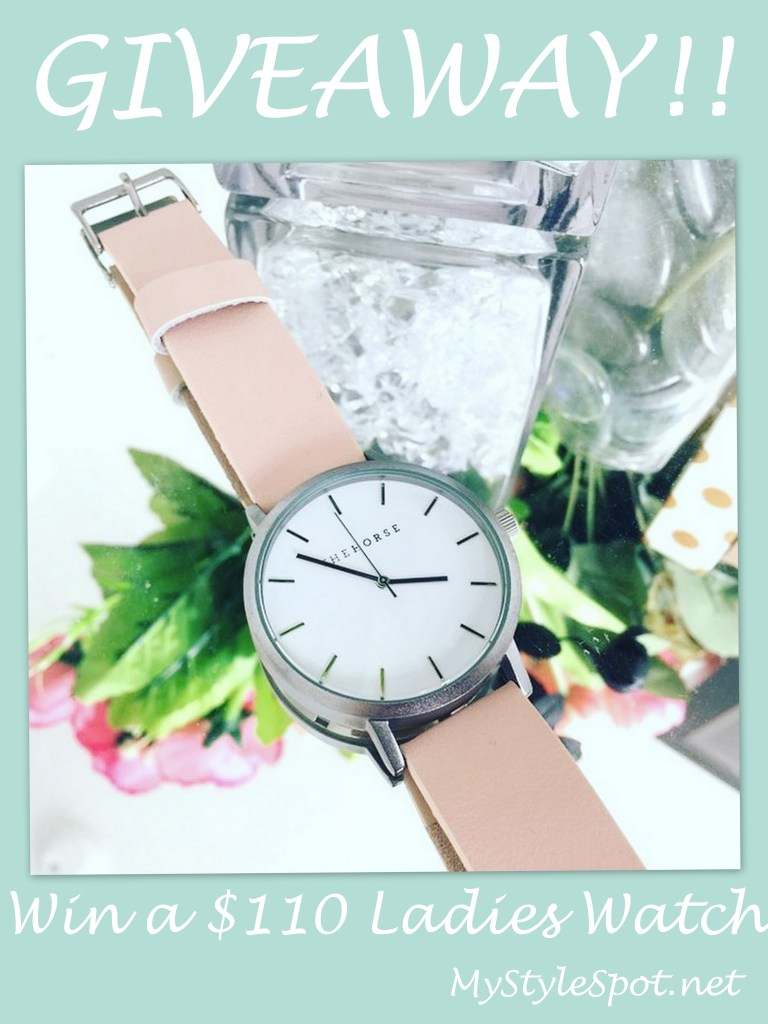 Win a $110 Ladies Watchly watch