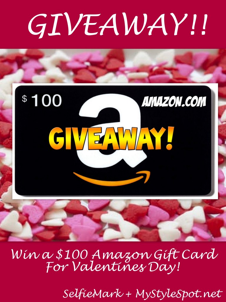 Win a $100 Amazon Gift Card from SelfieMark app and MyStyleSpotnet